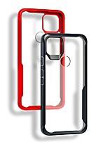 cheap -Bumper Transparent Phone Case For Google Pixel 5 XL Pixel 4 XL Pixel 4a Pixel 3 XL Pixel 3a XL Shockproof Dustproof Clear TPU Back Cover