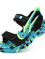 cheap -Boys' Sandals Comfort Beach Mesh Lace up Big Kids(7years +) Sports & Outdoor Daily Walking Shoes Black / Blue Black / Red Summer