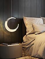 cheap -LED Pendant Light Bedside Light Kitchen Island Light Moon Design 30 cm Lantern Desgin Metal Electroplated 220-240V 110-120V