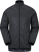 cheap -Men's Cycling Jacket Spandex Bike Top Quick Dry Moisture Wicking Sports Solid Color Blue / Grey / White Clothing Apparel Bike Wear / Long Sleeve / Micro-elastic / Athleisure