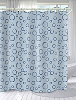 cheap -Simple Art Series Digital Printing Shower Curtain Shower Curtains  Hooks Modern Polyester New Design