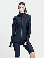 cheap -Sauna Suit Sports Tactel Nylon PVA Yoga Fitness Gym Workout Stretchy Lightweight Breathable Hot Sweat For Women