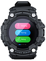 cheap -LOKMAT ATTACK Smartwatch Fitness Running Watch Bluetooth Pedometer Activity Tracker Sleep Tracker Long Standby Message Reminder Call Reminder IP 67 49mm Watch Case for Android iOS Men Women