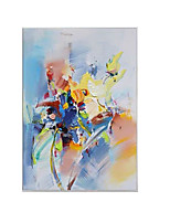 cheap -Oil Painting Handmade Hand Painted Wall Art Simple Abstract Pictures Home Decoration Decor Stretched Frame Ready to Hang