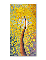 cheap -Oil Painting Handmade Hand Painted Wall Art Tree Abstract Pictures Home Decoration Decor Stretched Frame Ready to Hang