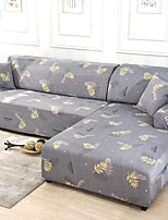cheap -Stretch Sofa Cover Slipcover Elastic Sectional Couch Armchair Loveseat 4 or 3 seater L shape Soft Durable Washable