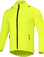 cheap -Men's Cycling Jacket Bike Top Quick Dry Moisture Wicking Sports Solid Color Green / Dark Navy / Black Clothing Apparel Bike Wear / Long Sleeve / Micro-elastic / Athleisure