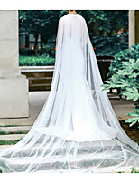 cheap -Sleeveless Elegant & Luxurious Tulle Wedding / Wedding Party Women's Wrap With Crystal / Rhinestone / Solid