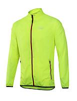 cheap -Men's Cycling Jersey Summer Bike Jersey Sports Blue / Green / Orange Clothing Apparel Bike Wear / Long Sleeve / Micro-elastic