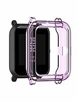 cheap -tpu cover for amazfit pop case,soft anti drop tpu protective case cover skin for amazfit pop/bip u/gts2 mini smart watch