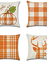 cheap -Autumn Double Side Cushion Cover 1PC Soft Decorative Square Throw Pillow Cover Cushion Case Pillowcase for Bedroom Livingroom Superior Quality Machine Washable Outdoor Cushion for Sofa Couch Bed Chair