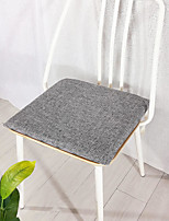 cheap -Seat Cushion Simple Non-slip Bandage Thicken Cotton and Linen Chair Cushion Home Office Bedroom Home Use Dining Table Chair Cushion
