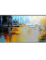 cheap -Oil Painting Handmade Hand Painted Wall Art Color Decorative Wall Pictures For Room Home Decoration Decor Stretched Frame Ready to Hang