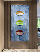 cheap -Wall Art Canvas Prints Painting Artwork Picture Contemporary Plant Leaf Home Decoration Décor Rolled Canvas No Frame Unframed Unstretched