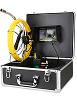 cheap -7Inch Screen Pipe Inspection Video Camera 22MM 1000TVL DVR HD Drain Sewer Pipeline Industrial Endoscope System