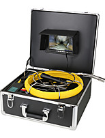 cheap -7 Inch DVR Monitor Sewer Pipe Inspection Video Camera with Meter Counter Auto Self Leveling 512HZ Transmitter Pipe Locator