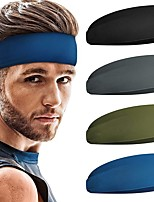 cheap -Bandanas Unisex Cotton Blue Gray Green 1pc / pack Adults Windproof Daily Outdoor Streetwear All Seasons
