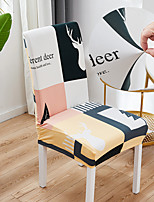 cheap -Simple Life 1Pcs Chair Cover for Dining Room Mandala Print Chairs Covers High Back for Living Room Party Wedding Christmas Decoration