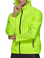 cheap -Men's Cycling Jacket Bike Top Quick Dry Sports Solid Color Blue / Green / White Clothing Apparel Bike Wear / Long Sleeve / Micro-elastic / Athleisure