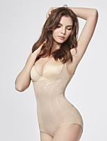 cheap -Corset Body Shaping Bodysuit Adjustable And Removable Shoulder Strap Body Shapewear