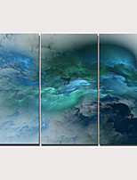 cheap -3 Panels Wall Art Canvas Prints Painting Artwork Picture Abstract Painting Home Decoration Décor Rolled Canvas No Frame Unframed Unstretched