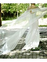 cheap -Sleeveless Elegant & Luxurious Tulle Wedding / Wedding Party Women's Wrap With Bowknot / Crystal / Rhinestone / Pearls