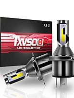 cheap -TXVSO8 M4 H4 LED Bulbs Bi-Xenon Hi/Lo 110W 26000LM Headlight Conversion Kit Lamp 6000K White 2pcs