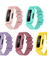 cheap -compatible with fitbit ace 3 bands for kids, silicone replacement band water resistant fitness watch starp for fitbit ace 3 kid's band (5-pack-a)
