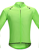 cheap -Men's Cycling Jacket Bike Top Quick Dry Moisture Wicking Sports Solid Color Blue / Green / Orange Clothing Apparel Bike Wear / Long Sleeve / Micro-elastic / Athleisure