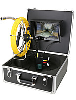cheap -7 inch DVR Monitor 20M Sewer Pipe Inspection Video Camera with Meter Counter Auto Self Leveling  Transmitter Pipe Locator