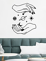 cheap -Planet Wall Stickers Bedroom Living Room Removable PVC Home Decoration Wall Decal 1pc
