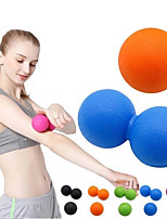 cheap -Exercise Ball Leg Muscle Relaxer Massage Massage Ball 1 pcs Sports TPE Yoga Exercise & Fitness Leisure Decompression Sports Portable Non Toxic Durable Lightweight Massage Trigger Point For Women Men