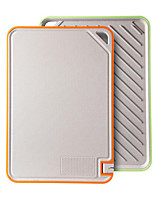 cheap -Cutting Board Plastic with Whetstone Anti-mildew and Antibacterial Cutting Board
