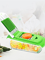 cheap -Grater Food Chopper Multi-function 6 Attachment Vegetable Tool Peeler SS304 Blades BPA Free