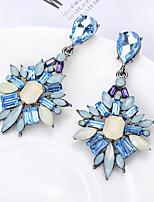 cheap -Women's Earrings Fashion Classic Baroque Earrings Jewelry Blue / Purple / Blushing Pink For Street 1 Pair