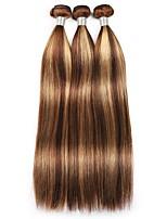 cheap -3 Bundles Hair Weaves Peruvian Hair Straight Human Hair Extensions Remy Human Hair Bundle Hair 10-30 inch