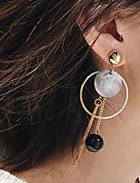 cheap -Women's Drop Earrings Earrings Classic Wedding Birthday Stylish Cartoon Cowboy Cool Sweet Earrings Jewelry Gold For Formal Date Beach Festival 1 Pair