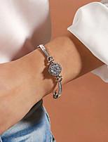 cheap -Women's Bracelet Classic Wedding Birthday Simple Elegant Fashion Holiday Imitation Diamond Bracelet Jewelry Silver For Christmas Party Evening Prom Date Festival