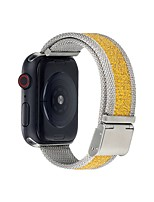 cheap -Smart Watch Band for Apple iWatch 1 pcs Sport Band Canvas Replacement  Wrist Strap for Apple Watch Series 7 / SE / 6/5/4/3/2/1