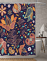cheap -Waterproof Fabric Shower Curtain Bathroom Decoration and Modern and Classic Theme.The Design is Beautiful and DurableWhich makes Your Home More Beautiful.