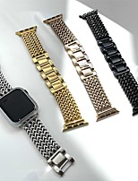cheap -Smart Watch Band for Apple iWatch 1 pcs Business Band Stainless Steel Replacement  Wrist Strap for Apple Watch Series 7 / SE / 6/5/4/3/2/1