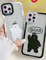 cheap -Phone Case For Apple Back Cover iPhone 12 Pro Max 11 SE 2020 X XR XS Max 8 7 Shockproof Dustproof Word / Phrase Animal TPU