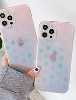 cheap -Phone Case For Apple Back Cover iPhone 12 Pro Max 11 SE 2020 X XR XS Max 8 7 6 Shockproof Dustproof Color Gradient TPU