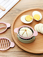 cheap -Multifunctional Egg Cutter Nordic Style Wheat Straw Environmental Protection Material