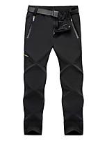 cheap -Men's Hiking Pants Trousers Winter Outdoor Waterproof Windproof Pants / Trousers Bottoms Male black Male dark gray Male Army Green Fishing Climbing Running L XL XXL XXXL 4XL