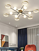 cheap -LED Ceiling Light 138 cm Sputnik Design Geometric Shapes Island Design Flush Mount Lights Acrylic Artistic Style Modern Style Stylish Brushed Artistic Nordic Style 220-240V