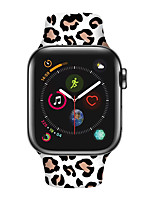 cheap -Smart Watch Band for Apple iWatch 1 pcs Sport Band Silicone Replacement  Wrist Strap for Apple Watch Series 7 / SE / 6/5/4/3/2/1