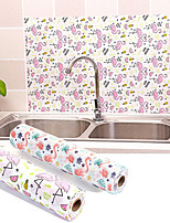 cheap -1 Roll Kitchen Table Mat Drawers Cabinet Shelf Liners Flamingo Cupboard Placemat Waterproof Oil proof Shoes Cabinet Mat