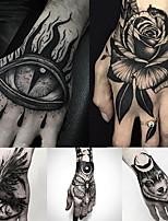 cheap -5 Pcs Temporary Tattoos Water Resistant Hand Brachium Tattoo Stickers