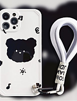 cheap -Phone Case For Apple Back Cover iPhone 12 Pro Max 11 SE 2020 X XR XS Max 8 7 Shockproof Dustproof Cartoon Graphic TPU